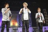 ライブで2012年の決意表明を発表したサーターアンダギー
