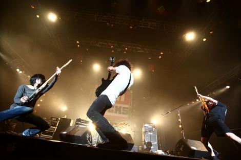 『EMI ROCKS 2012』に出演した9mm Parabellum Bullet