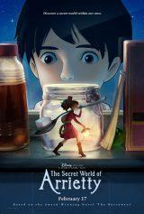キーアートも新たにた『The Secret World of Arrietty』(『借りぐらしのアリエッティ』)が北米公開 (C)2010 GNDHDDTW (C) 2012 GNDHDDTW