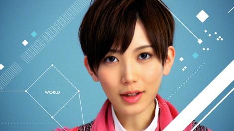 サムネイル 研究生ながら、先輩・前田敦子らと肩を並べCMデビューを果たした光宗薫(新CM「Love PC,Love HP.dv6篇」より)