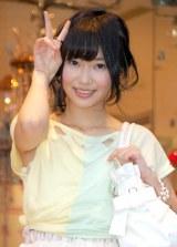 ソロデビュー曲の発売が5月2日が決まり笑顔でアピールしたAKB48・指原莉乃 (C)ORICON DD inc.
