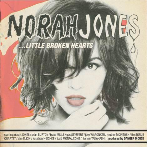 ノラ・ジョーンズの新作『リトル・ブロークン・ハーツ』が、4月25日に日本先行発売