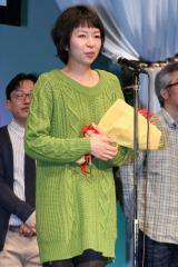 スペシャルメンションでベストアクトレスとして表彰された菜葉菜 (C)ORICON DD inc.