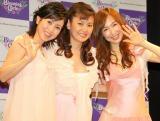 新アイドルユニット・Blooming Girlsを結成した(左から)西村知美、南野陽子、森口博子 (C)ORICON DD inc.