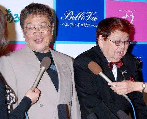 加藤茶&綾菜夫人の結婚披露宴に出席した(左から)仲本工事、高木ブー (C)ORICON DD inc.
