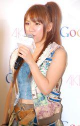 「AKB48新戦略記者発表会」に出席した高橋みなみ (C)ORICON DD inc.
