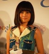 「AKB48新戦略記者発表会」に出席した前田敦子 (C)ORICON DD inc.