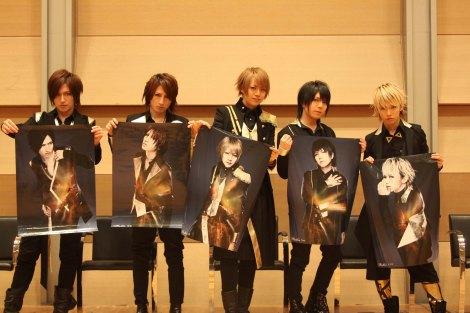 """5thアルバム『""""9""""(ナイン)』(2月22日発売)の購入者特典イベントを開催したAlice Nine"""