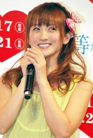 映画『僕等がいた』女子限定試写会イベントに出席した小松彩夏 (C)ORICON DD inc.