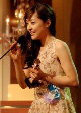 第35回日本アカデミー賞で主演女優賞を受賞した井上真央 (C)ORICON DD inc.