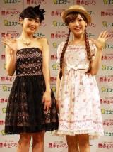 TOURSミュージカル『赤毛のアン』新キャスト発表会に神田沙也加(右)と高橋愛(左)が出席