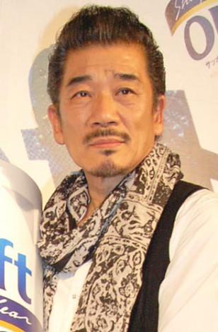 『サッポロ ドラフトワン』のリニューアル記念イベントに出席した宇崎竜童 (C)ORICON DD inc.