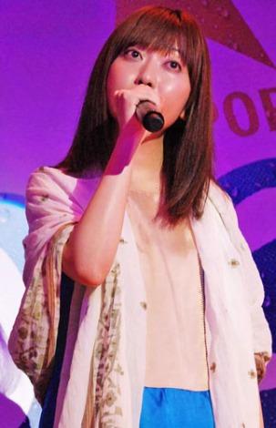 『サッポロ ドラフトワン』のリニューアル記念イベントで、スペシャルライブを行った持田香織 (C)ORICON DD inc.