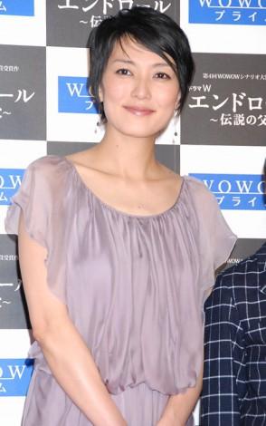サムネイル 妊娠5ヶ月の板谷由夏 (C)ORICON DD inc.