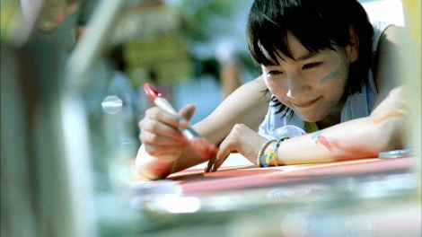 第11代目『カルピスウォーター』CMキャラクター・能年玲奈が出演する、新CM「全力の君に ライブ準備」篇より
