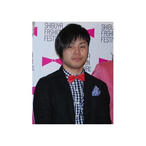 サムネイル 『SHIBUYA FASHION FESTIVAL Vol.1』記者発表会に出席したNON STYLEの井上裕介 (C)ORICON DD inc.