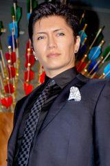東京のルイ・ヴィトン六本木ヒルズ店で行われたリニューアル記念レセプションパーティに出席したGACKT (C)ORICON DD inc.