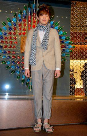 東京のルイ・ヴィトン六本木ヒルズ店で行われたリニューアル記念レセプションパーティに出席したJUNO (C)ORICON DD inc.