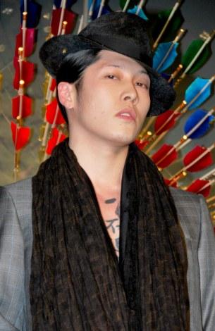 東京のルイ・ヴィトン六本木ヒルズ店で行われたリニューアル記念レセプションパーティに出席した雅-MIYAVI- (C)ORICON DD inc.
