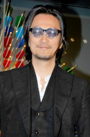 東京のルイ・ヴィトン六本木ヒルズ店で行われたリニューアル記念レセプションパーティに出席した紀里谷和明 (C)ORICON DD inc.