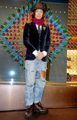 東京のルイ・ヴィトン六本木ヒルズ店で行われたリニューアル記念レセプションパーティに出席した斎藤工 (C)ORICON DD inc.