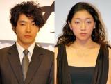 結婚を発表した(左から)柄本佑、安藤サクラ (C)ORICON DD inc.