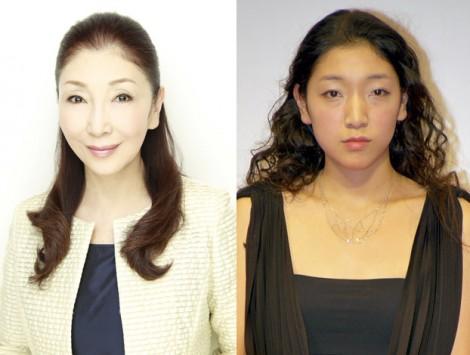 サムネイル 愛娘・安藤サクラ(右)の結婚を祝福した安藤和津
