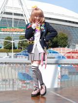 東京ドームシティの新アトラクションオープニングイベントに出席したきゃりーぱみゅぱみゅ (C)ORICON DD inc.