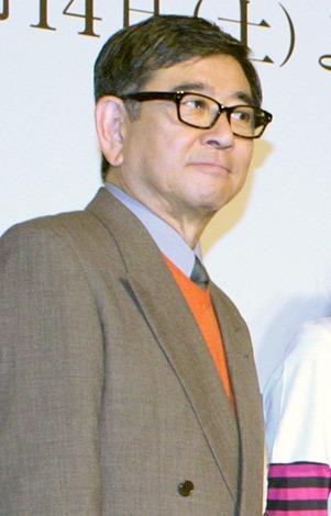 ドラマ『三毛猫ホームズの推理』の制作会見 に出席した石坂浩二 (C)ORICON DD inc.