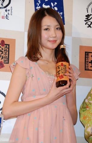『新橋ごぶごぶ祭り』開催記念イベントに出席した松田みなみ (C)ORICON DD inc.