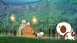 NHKの新番組『リトル・チャロ東北編』4月7日放送の第1話「宿命」のワンシーン。春の遠野へやってきたチャロはふとしたことから民話の世界へ足を踏み入る…(C)NHK・NHKエデュケーショナル