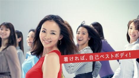 SHIHOが産後初めてCM出演した、トリンプの新商品『SHAPE SENSATION』新CMより