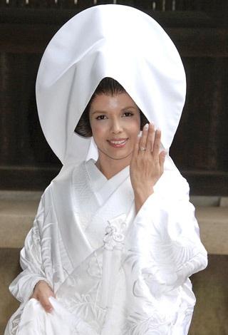 2010年10月に神前挙式を行ったSHEILA (C)ORICON DD inc.