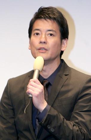 日本・中国・韓国、3ヶ国共同制作連続ドラマシリーズ『Strangers6』の記者会見に出席した唐沢寿明 (C)ORICON DD inc.