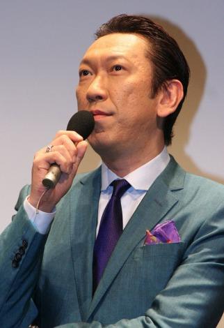 日本・中国・韓国、3ヶ国共同制作連続ドラマシリーズ『Strangers6』の記者会見に出席した布袋寅泰 (C)ORICON DD inc.