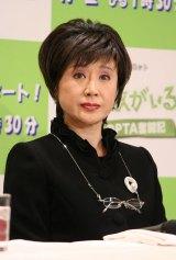 『七人の敵がいる! ママたちのPTA奮闘記』の制作発表会に出席した小林幸子 (C)ORICON DD inc.