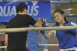 澤穂希、新CMでボクシングに挑戦!