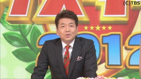 20年ぶりに特番として復活するTBS『クイズダービー2012』で司会を務めるくりぃむしちゅー・上田晋也