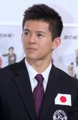 『世界フィギュアスケート国別対抗戦2012』の日本代表メンバー発表会見に出席したマービン・トラン選手 (C)ORICON DD inc.