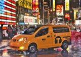 """米ニューヨーク市で披露された、日産製の""""次世代イエローキャブ"""""""