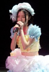 3月25日のさいたまスーパーアリーナ3days最終日公演では体調不良のなか1曲のみの参加となった松井珠理奈 (C)ORICON DD inc.