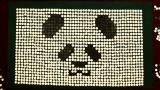 オセロで描いたパンダくん(C)ヒガアロハ・小学館/しろくまカフェ製作委員会 2012