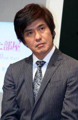 月9ドラマ『鍵のかかった部屋』の会見に出席した佐藤浩市 (C)ORICON DD inc.