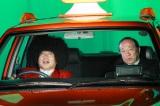 『きらきらアフロ』再開1回目の放送で、笑福亭鶴瓶は35年ぶりに因縁の番組AD(当時)と2人タクシーの中(C)テレビ東京
