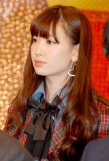 新番組『ガチガセ』の制作発表会見に出席したAKB48・小嶋陽菜 (C)ORICON DD inc.