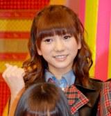 新番組『ガチガセ』の制作発表会見に出席したAKB48・高城亜樹 (C)ORICON DD inc.
