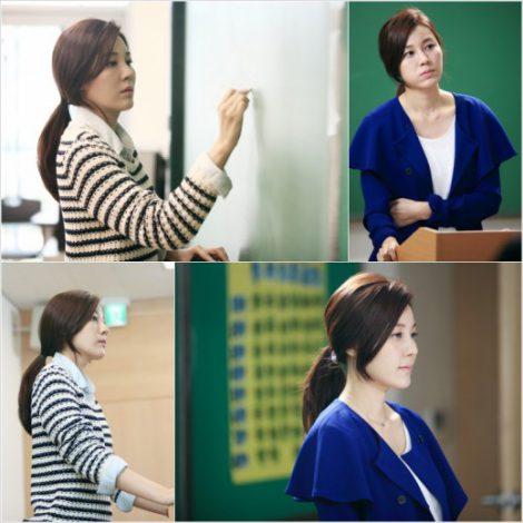 SBS『紳士の品格』に出演するキム・ハヌル