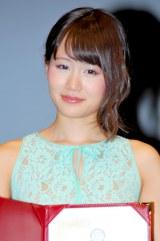 『外国映画ベストサポーター賞』授賞式に出席したAKB48・前田敦子 (C)ORICON DD inc.