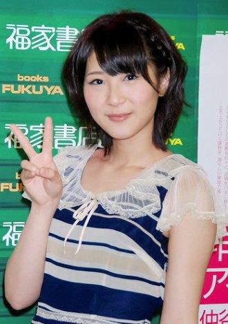 著書『非選抜アイドル』(小学館刊)発売記念イベントを都内で行ったAKB48・仲谷明香 (C)ORICON DD inc.