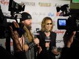 米ゴールデン・ゴッズ・アワードで「ベスト・インターナショナル・バンド賞」を受賞したX JAPANのYOSHIKI